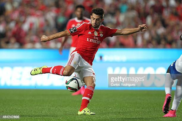 Benfica's forward Pizzi during the match between SL Benfica and Estoril Praia at Estadio da Luz on August 16 2015 in Lisbon Portugal