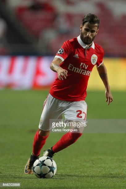 Benfica's forward Rafa Silva from Portugal during SL Benfica v CSKA Moskva UEFA Champions League round one match at Estadio da Luz on September 12...