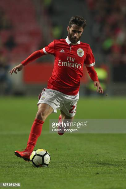 Benfica's forward Rafa Silva from Portugal during the match between SL Benfica and FC Vitoria Setubal for the Portuguese Cup at Estadio da Luz on...