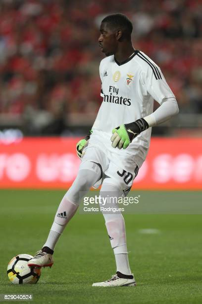Benfica's goalkeeper Bruno Varela from Portugal during the match between SL Benfica and SC Braga for the fruit round of the Portuguese Primeira Liga...