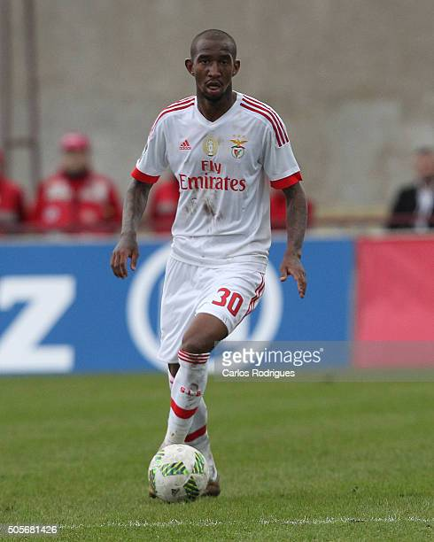 Benfica's midfielder Anderson Talisca during the match between Oriental Lisboa and SL Benfica for Portuguese League Cup at Estadio Engenheiro Carlos...