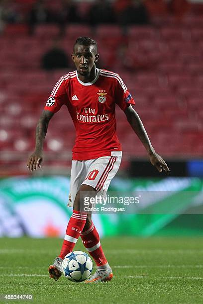Benfica's midfielder Anderson Talisca during the match between SL Benfica and FC Astana for the UEFA Champions League at Estadio da Luz on August 29...