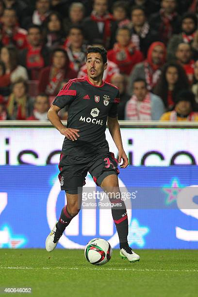 Benfica's midfielder Andre Almeida during the Portuguese Cup match between SL Benfica and SC Braga at Estadio da Luz on December 18 2014 in Lisbon...
