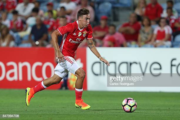 Benfica's midfielder Andre Horta during the Pre Season match between SL Benfica and Vitoria Setubal at Estadio do Algarve on July 14 2016 in Faro...