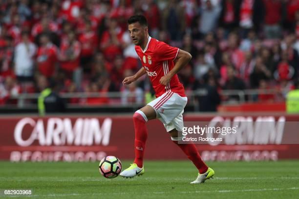 Benfica's midfielder Andreas Samaris from Greece during the match between SL Benfica and Vitoria SC for the Portuguese Primeira Liga at Estadio da...