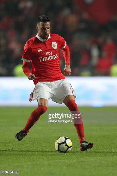 Benfica's midfielder Andreas Samaris from Greece during the match between SL Benfica and FC Vitoria Setubal for the Portuguese Cup at Estadio da Luz...