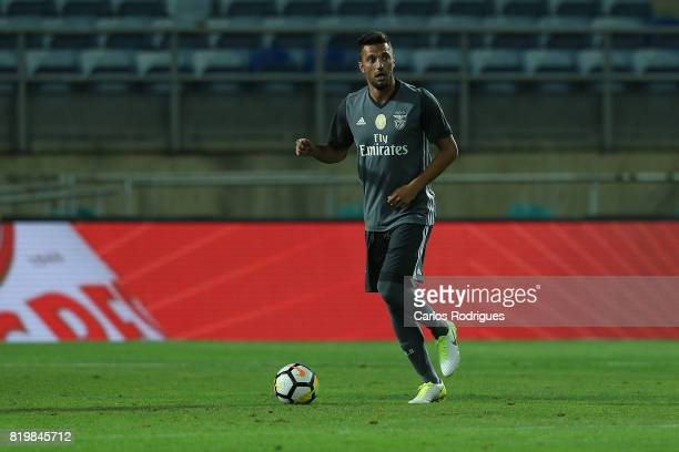 Benfica's midfielder Andreas Samaris from Greece during the PreSeason Algarve Cup match between SL Benfica and Real Betis FC at Estadio do Algarve on...