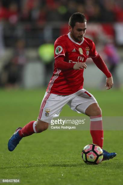 Benfica's midfielder Andrija Zivkovic from Serbia during the match between Estoril Praia SAD and SL Benfica for the Portuguese Cup at Estadio Antonio...