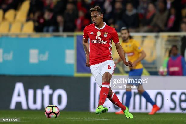 Benfica's midfielder Filipe Augusto from Brasil during the match between Estoril Praia SAD and SL Benfica for the Portuguese Cup at Estadio Antonio...