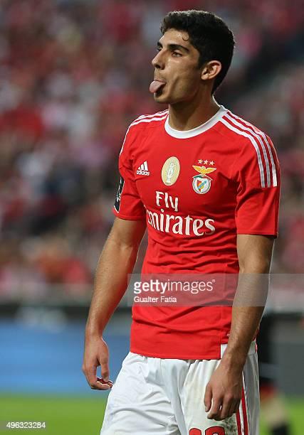 Benfica's midfielder Goncalo Guedes during the Primeira Liga match between SL Benfica and Boavista at Estadio da Luz on November 8 2015 in Lisbon...