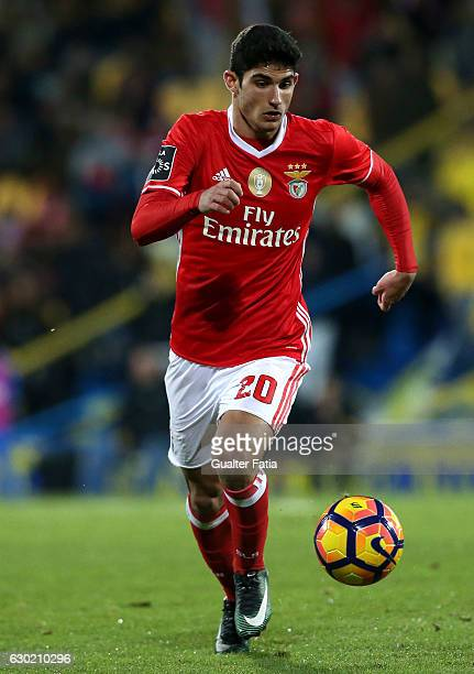 BenficaÕs midfielder Goncalo Guedes in action during the Primeira Liga match between GD Estoril Praia and SL Benfica at Estadio Antonio Coimbra da...