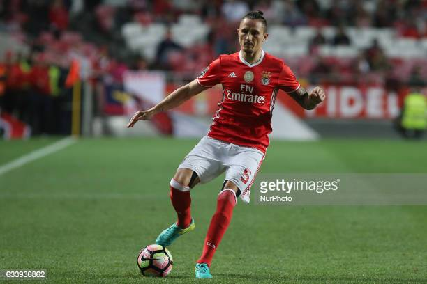 Benficas midfielder Ljubomir Fejsa from Serbia during the Premier League 2016/17 match between SL Benfica v CD Nacional at Luz Stadium in Lisbon on...