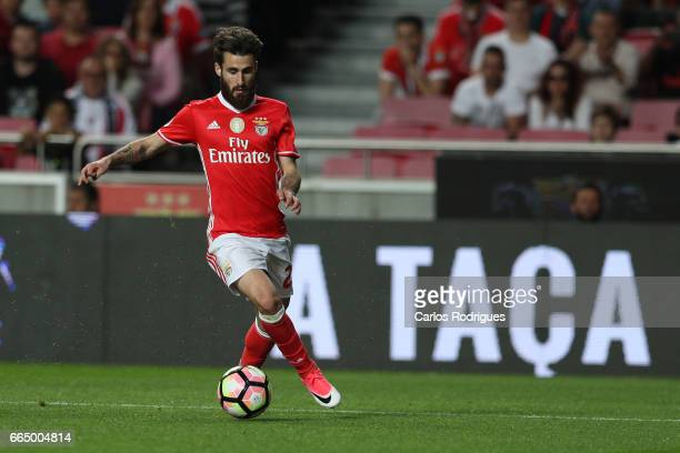 Benfica's midfielder Rafa Silva from Portugal during the match between SL Benfica and Estoril Praia SAD for the Portuguese Cup semi finals second leg...