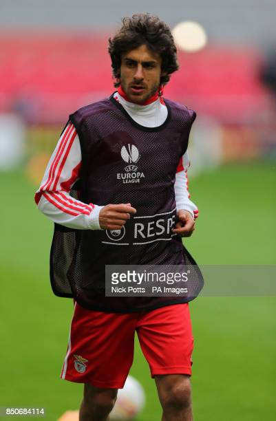 Benfica's Pablo Aimar during training session ahead of playing Chelsea in Final of the Europa League tomorrow at the Amsterdam Arena Amsterdam PRESS...
