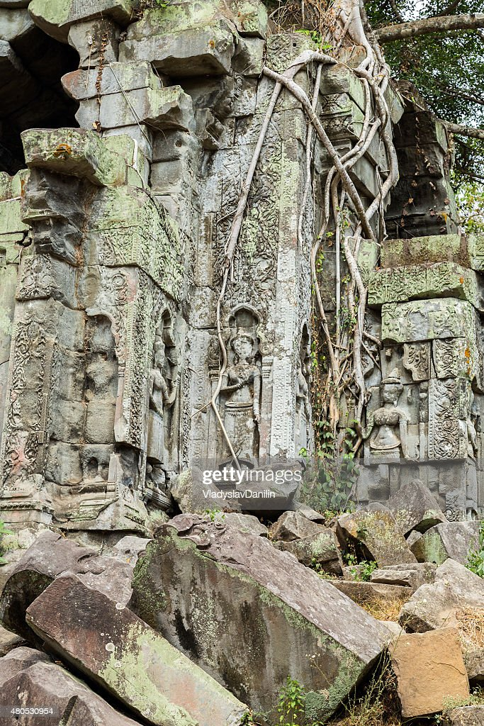 Beng Mealea Temple, Angkor, Cambodia : Stock Photo