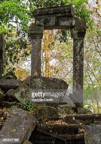 Beng Mealea Templo de Angkor, Camboja : Foto de stock