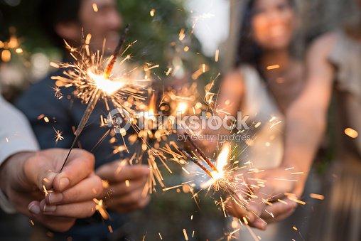 Bengal lights : Stock Photo