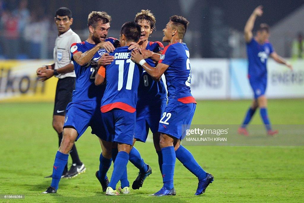 FBL-AFC-CUP-BENGALURU-FC-JOHOR-DARUL-TA'ZIM : News Photo