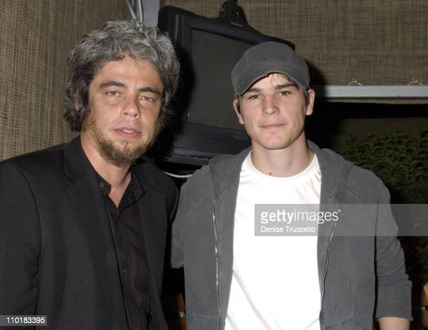 Benicio Del Toro and Josh Hartnett during CineVegas Film Festival 2003 Movieline Hollywood Life Presents the Closing Night Gala At Skin Inside at The...