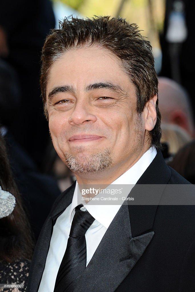 Benicio del Toro at the Premiere for 'Biutiful' during the 63rd Cannes International Film Festival.