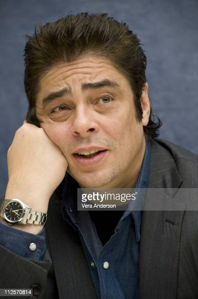 Benicio Del Toro at the 'The Wolfman' Press Conference at the Four Seasons Hotel on February 7 2010 in Beverly Hills California