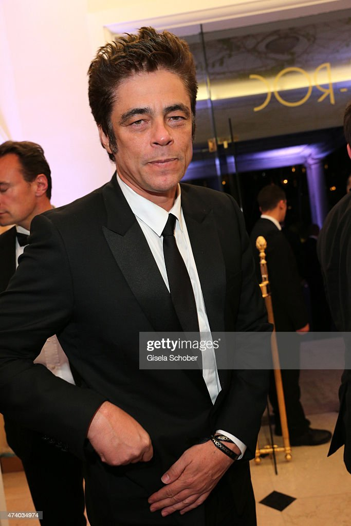 Benicio del Toro during the De Grisogono party during the 68th annual Cannes Film Festival on May 19 2015 in Cap d'Antibes France
