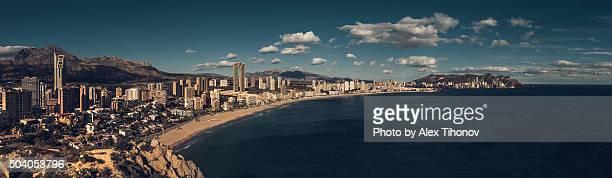 Benidorm cityscape. Alicante. Spain