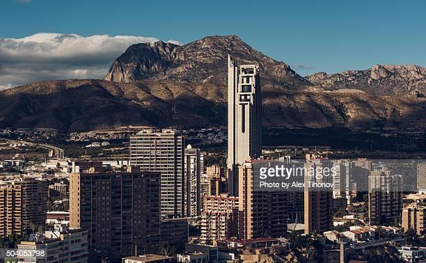 Benidorm skyscrapers. Spain