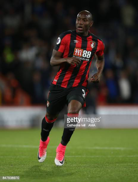Benik Afobe of AFC Bournemouth during the Premier League match between AFC Bournemouth and Brighton and Hove Albion at Vitality Stadium on September...