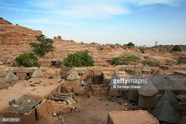 Benimato, a Dogon village on top of Bandiagara