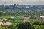 A beautiful Landscape of Benin city, Edo state, Nigeria, west Africa