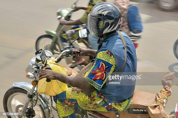 Benin Motorcyclist