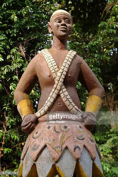 Benin, Ouidah, Sacred Forest, Voodoo divinity