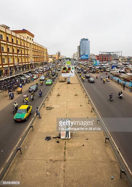 Benin West Africa Cotonou dantokpa market road