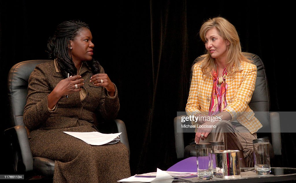 Benita Fitzgerald Mosley, President and CEO, WICT and <a gi-track='captionPersonalityLinkClicked' href=/galleries/search?phrase=Kim+Martin&family=editorial&specificpeople=242970 ng-click='$event.stopPropagation()'>Kim Martin</a>, GM, We Network