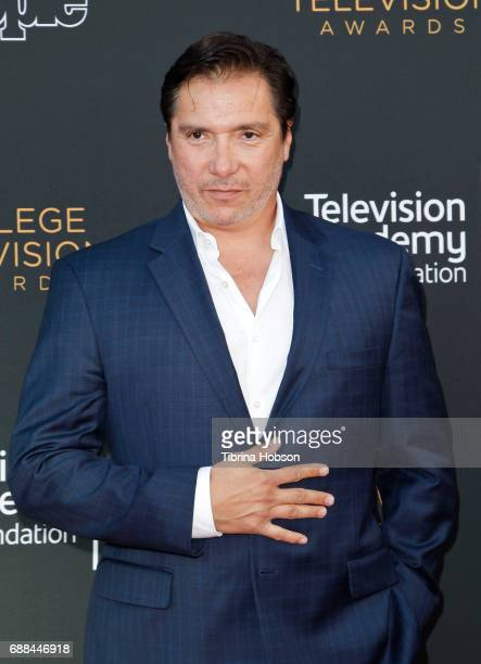 Benito Martinez attends the 38th College Television Awards at Wolf Theatre on May 24 2017 in North Hollywood California