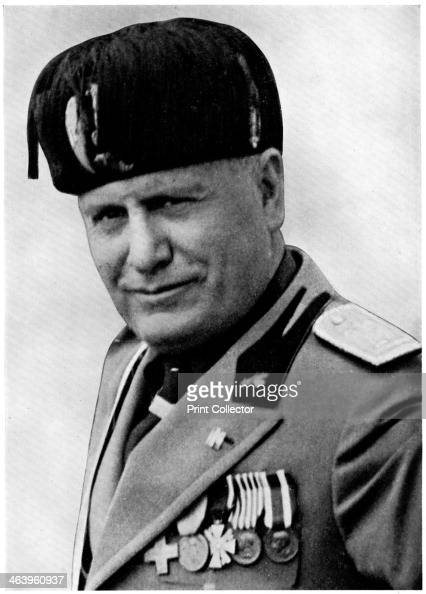 Benito Mussolini Stock Photos and Pictures | Getty Images