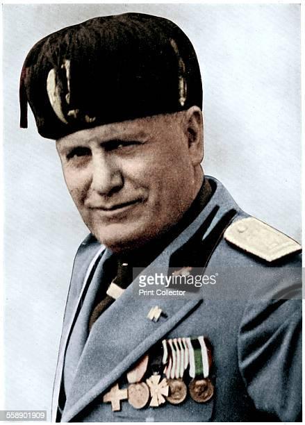 Benito Mussolini Italian fascist dictator 20th century