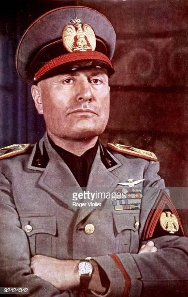Benito Mussolini Italian statesman 1940
