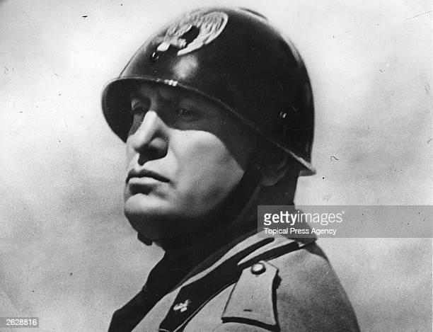 Benito Mussolini the Italian dictator in 1934