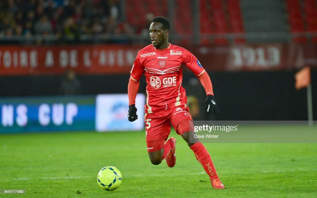 Benjamin ANGOUA - - Valenciennes / Nancy - 34e journee de Ligue 1 - , Photo: Dave Winter / Icon Sport