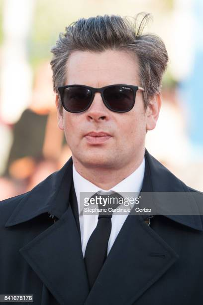 Benjamin Biolay arrives at the Opening Ceremony of the 43rd Deauville American Film Festival on September 1 2017 in Deauville France