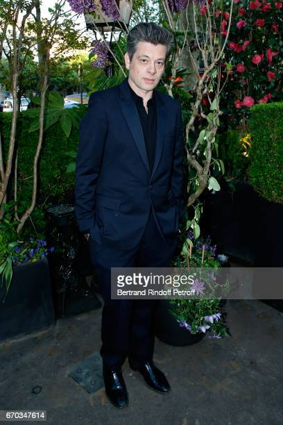 Benjamin Biolay attends 'La Closerie des Lilas' Literary Awards 2017 at La Closerie des Lilas on April 19 2017 in Paris France