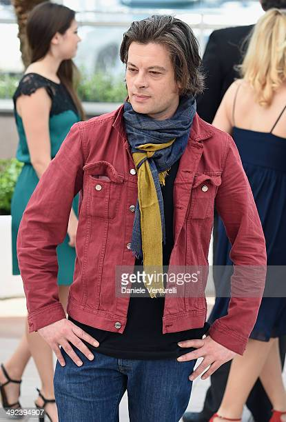 Benjamin Biolay attends the 'ADAMI' Photocall at the 67th Annual Cannes Film Festival on May 20 2014 in Cannes France