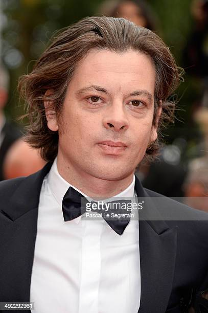 Benjamin Biolay attends the 'Foxcatcher' premiere during the 67th Annual Cannes Film Festival on May 19 2014 in Cannes France