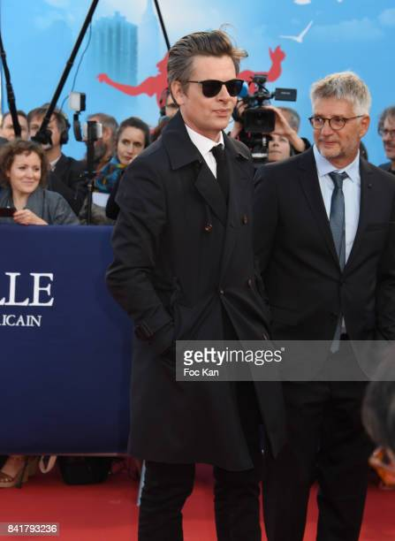 Benjamin Biolay attends the opening ceremony of the 43rd Deauville American Film Festival on September 1 2017 in Deauville France