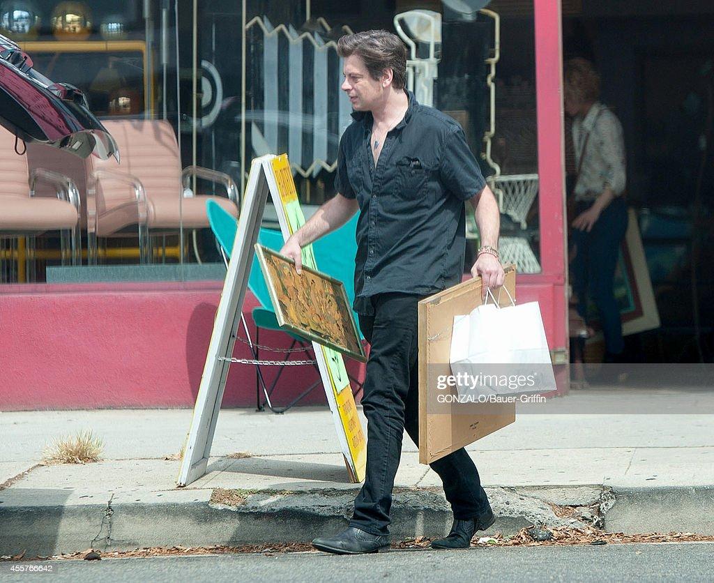 Celebrity Sightings In Los Angeles - September 19, 2014
