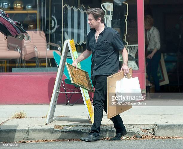 Benjamin Biolay is seen in Hollywood on September 19 2014 in Los Angeles California
