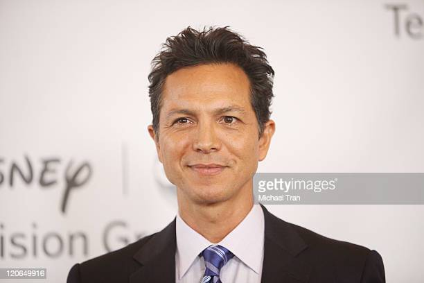 Benjamin Bratt arrives at the 2011 TCA Summer Press Tour Disney ABC Television Group held at The Beverly Hilton hotel on August 7 2011 in Beverly...