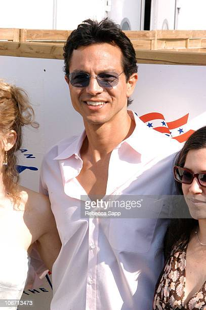 Benjamin Bratt during 2004 Cannes Film Festival In Conversation with the Cast of 'The Woodsman' at The American Pavilion at THe American Pavilion in...